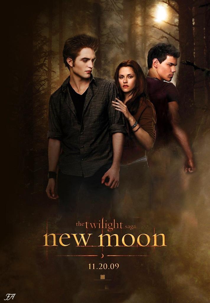 new moon poster new moon movie fan art 6311922 fanpop