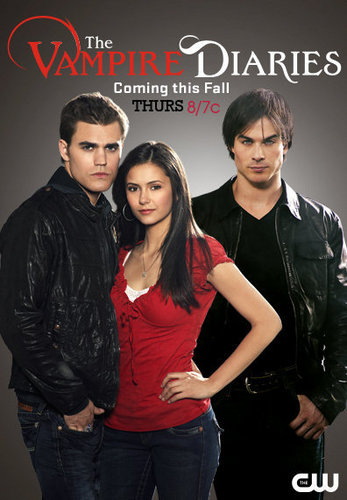 The Vampire Diaries wolpeyper containing a portrait titled Official Vampire Diaries Promo Poster