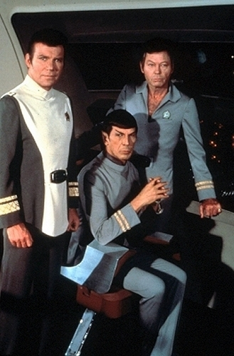 Our favorite actors - Shatner,Nimoy and Kelley