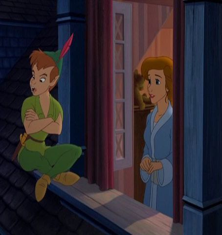 Disney Couples wallpaper entitled Peter Pan and Wendy Darling