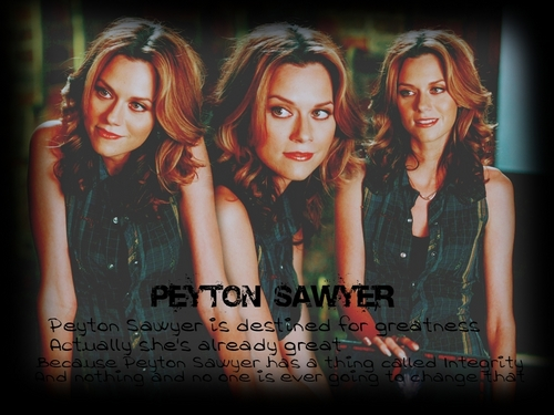 Peyton Scott wallpaper with a portrait entitled Peyton <3