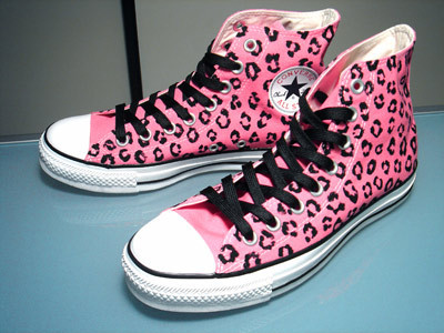 Converse images Pink leopard print converse's wallpaper and background photos