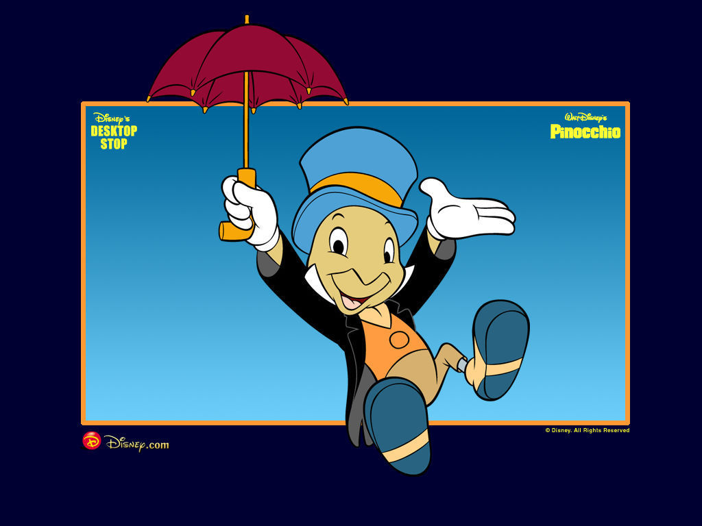 Ebay Wall Stickers Quotes Pinocchio Images Pinocchio Jiminy Cricket Wallpaper Hd