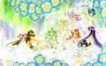 Pretty in White (Widescreen) - sailor-senshi wallpaper