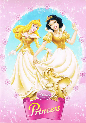 Princesses Aurora and Snow White