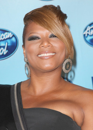 queen Latifah at the Finale