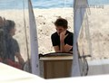 Rob hits the beach - twilight-series photo