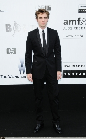 Robert Pattinson at the amfAR Cinema Against AIDS