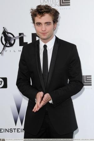 Robert Pattinson at the amfAR Cinema Against AIDS