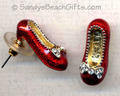 Ruby slippers Earings - the-wizard-of-oz fan art