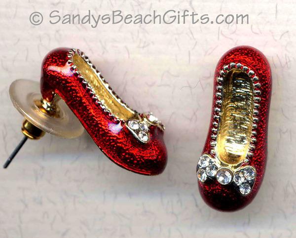 Ruby slippers Earings
