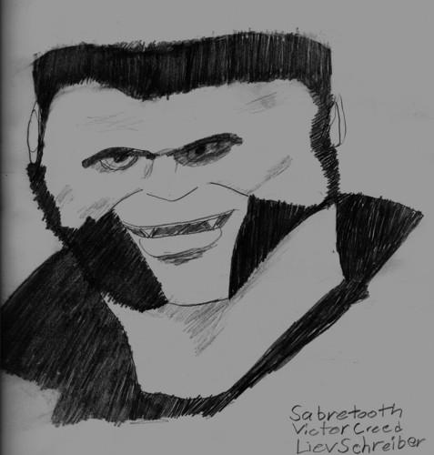 Sabretooth/Victor Creed(Liev Schreiber )