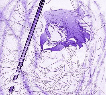 Sailor Saturn Manga