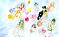 Sailor Wedding (Widescreen) - sailor-senshi wallpaper