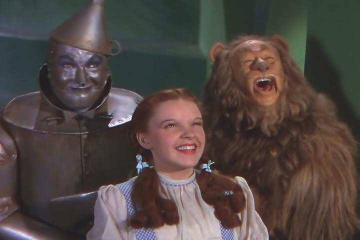 Tin Man,Dorothy And The Lion