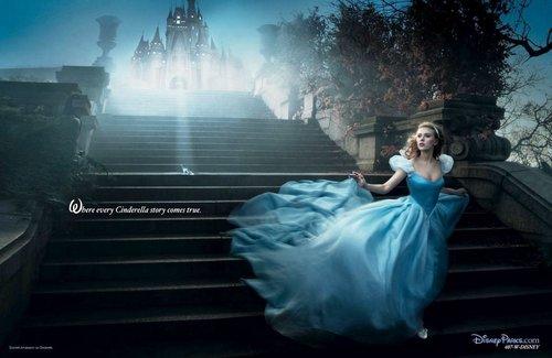 Scarlett Johansson as Cendrillon