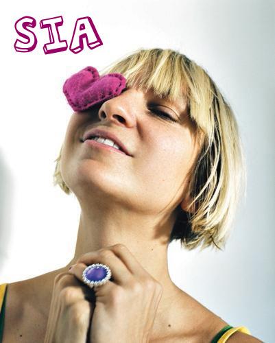 Sia fondo de pantalla titled Sia