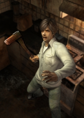 Silent Hill wallpaper probably containing a well dressed person, a business suit, and an outerwear called Silent Hill 4