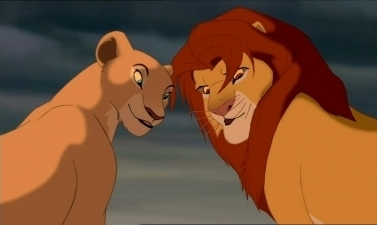 Disney Couples wallpaper entitled Simba and Nala