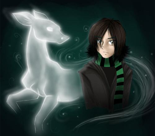 Severus Snape wallpaper titled Snape's patronus