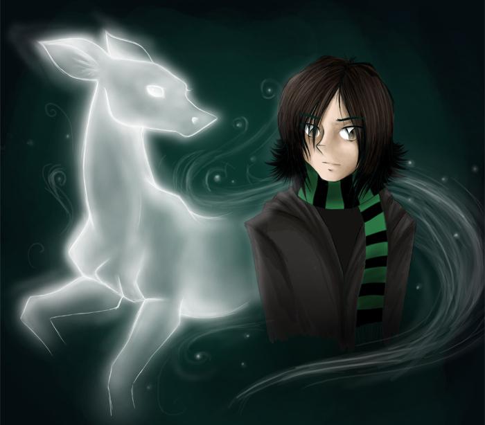 Snape's patronus