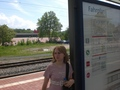 Some girl at the train station o.O