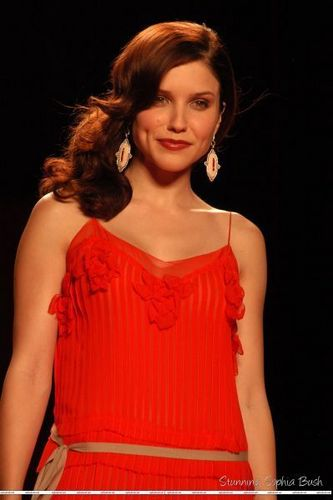Sophia Bush at the Olympus Fashion Week - The Heart Truth, Red Dress Collection