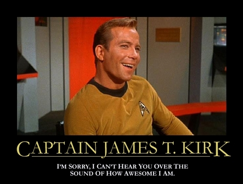 nyota trek captain kirk