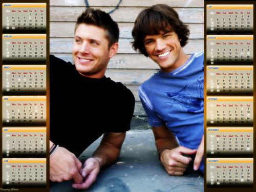 Supernatural calendar 2009