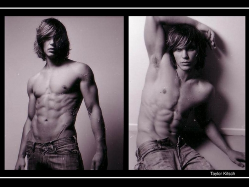 Taylor Kitsch wallpaper containing a hunk, a six pack, and skin called TAYLOR KITSCH