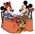 Thanksgiving Mickey and Minnie - mickey-and-minnie photo