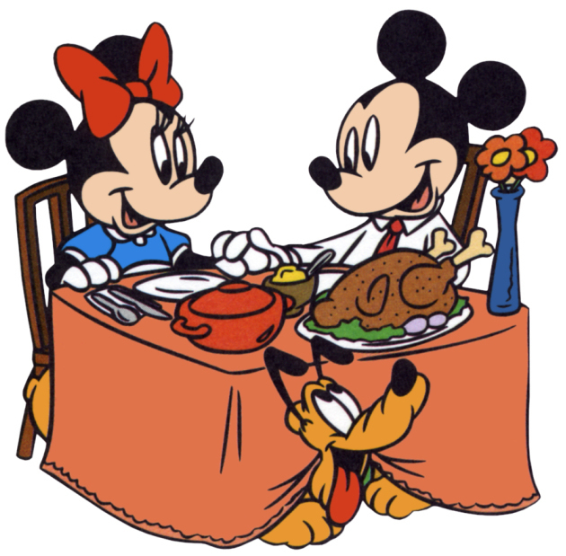Thanksgiving Mickey and Minnie