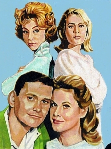 The Cast Of Bewitched