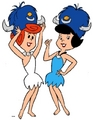 The Flintstones, Wilma and Betty - the-flintstones photo