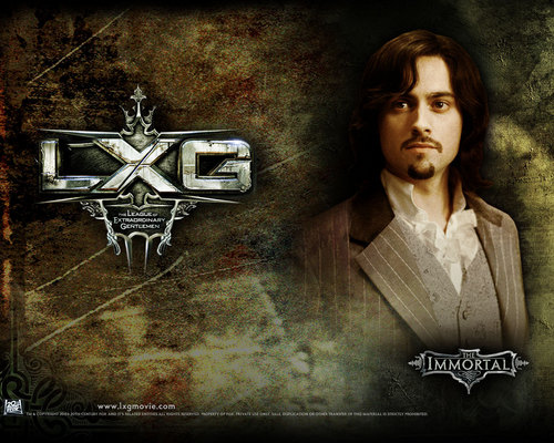 filmes wallpaper with a sign called The League of Extraordinary Gentlemen