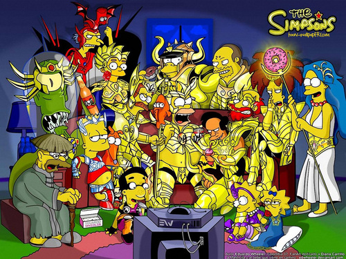 los simpson fondo de pantalla containing anime entitled The Simpsons