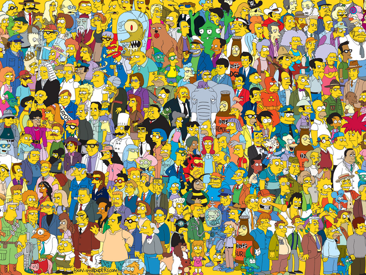 Fabulous Cast of Simpsons Characters Names 1280 x 960 · 1017 kB · jpeg