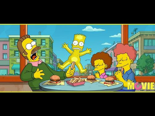 심슨 가족 바탕화면 probably containing 아니메 titled The Simpsons