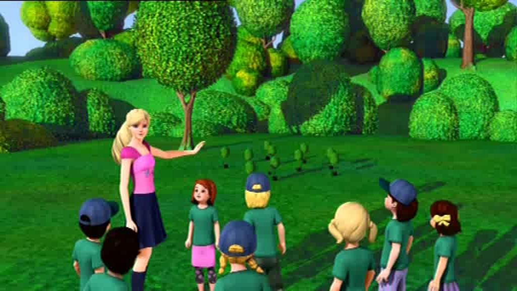 Tabitha st germain barbie presents thumbelina barbie thumbelina or