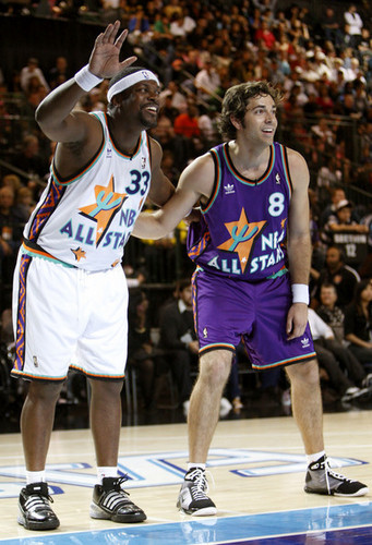 Zachary Levi Playing in the 2009 McDonald's All-Star Celebrity basquetebol, basquete Game