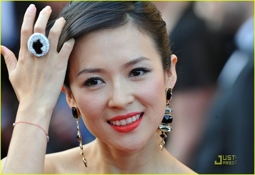Ziyi Zhang at the 2009 Cannes Film Festival