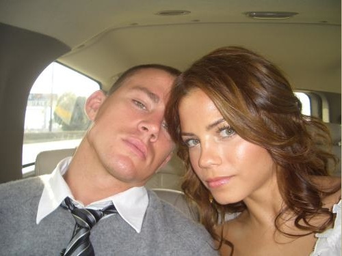Channing Tatum & Jenna Dewan wallpaper probably with a portrait called channing/jenna