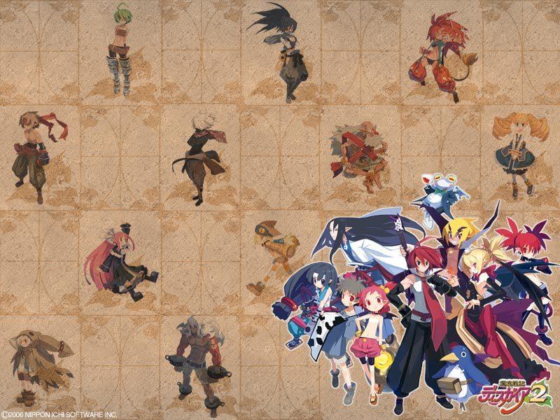 Disgaea 2 All Characters
