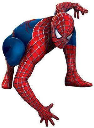 Spider-Man wallpaper possibly containing a hip boot and an outerwear entitled spidey