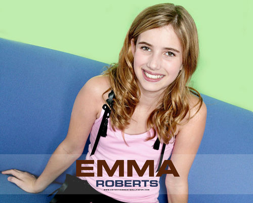 Emma Roberts wallpaper possibly containing a portrait called -Emma♥