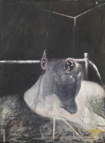 'Head I' por Francis bacon, toucinho