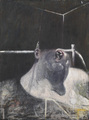 'Head I' da Francis bacon, pancetta affumicata