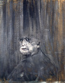 'Head III' da Francis bacon, pancetta affumicata