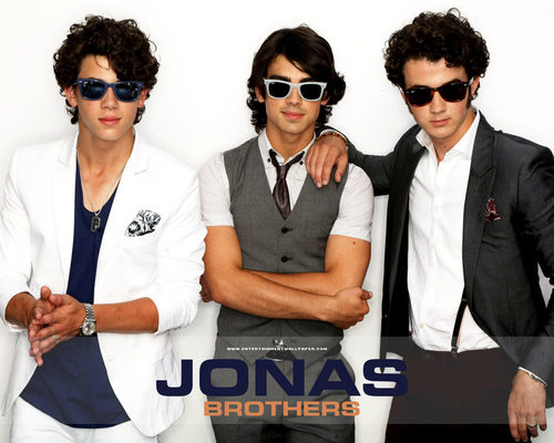 The Jonas Brothers wallpaper containing sunglasses entitled -JonasBrothers♥