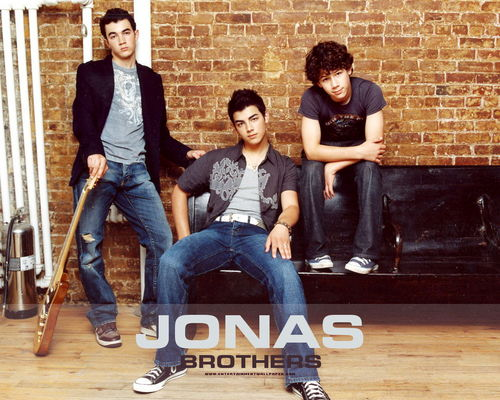 The Jonas Brothers wallpaper with a jean and a pantleg called -JonasBrothers♥
